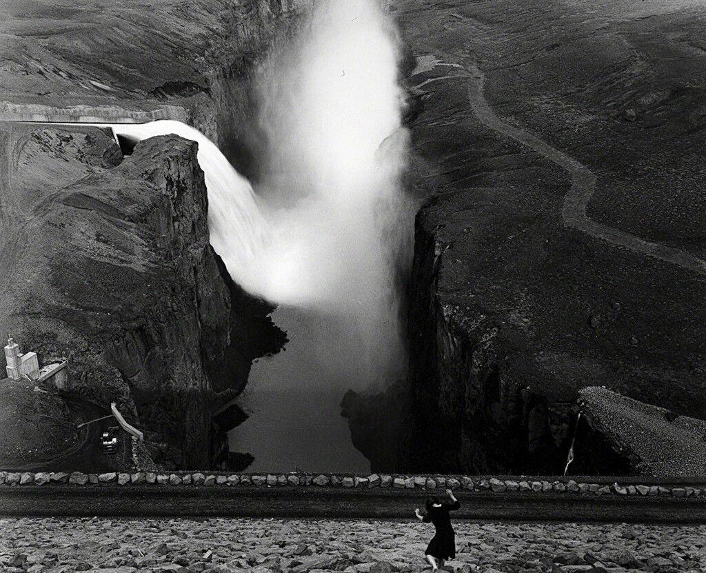 Self Portrait. Kárahnjúkar Dam, Iceland