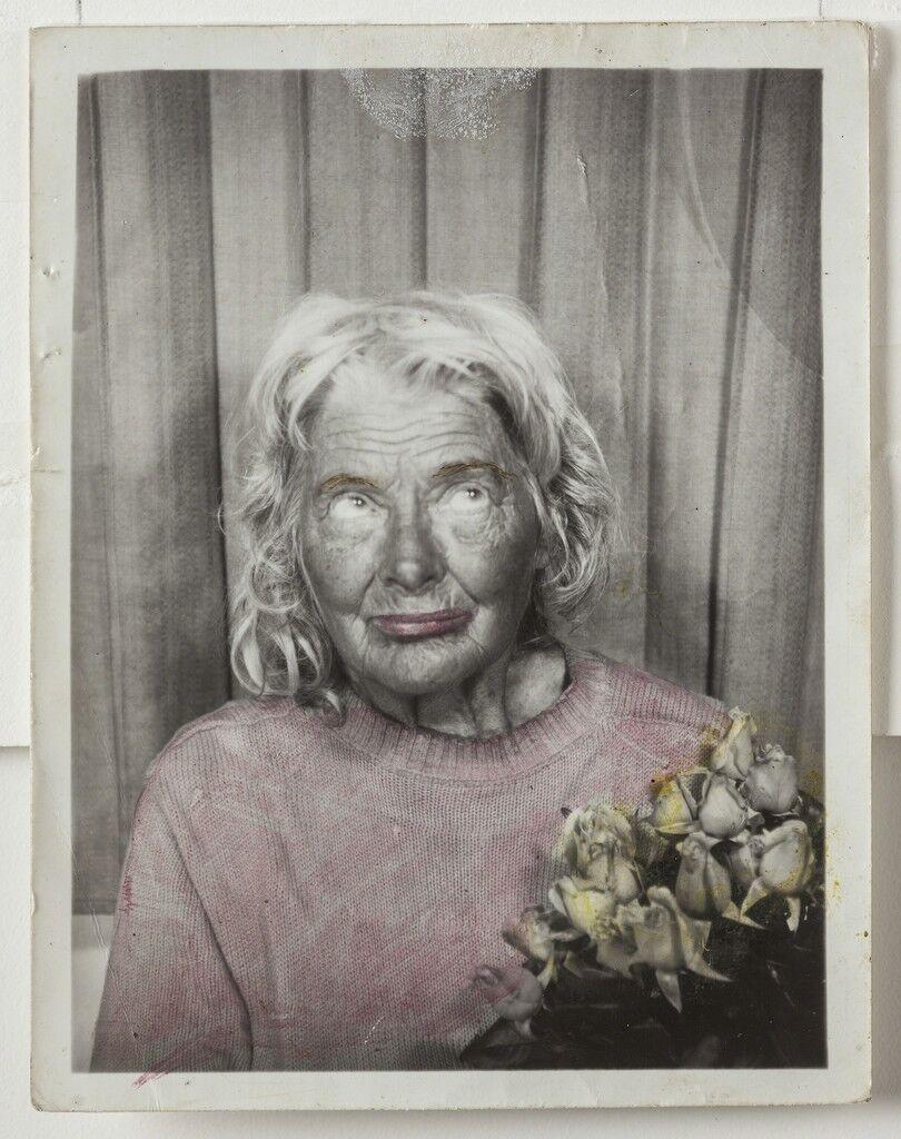 Untitled (12 photobooth self-portraits, detail)