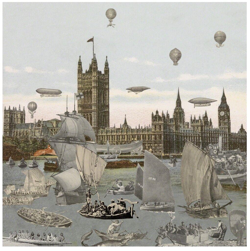 London- River Thames- Regatta