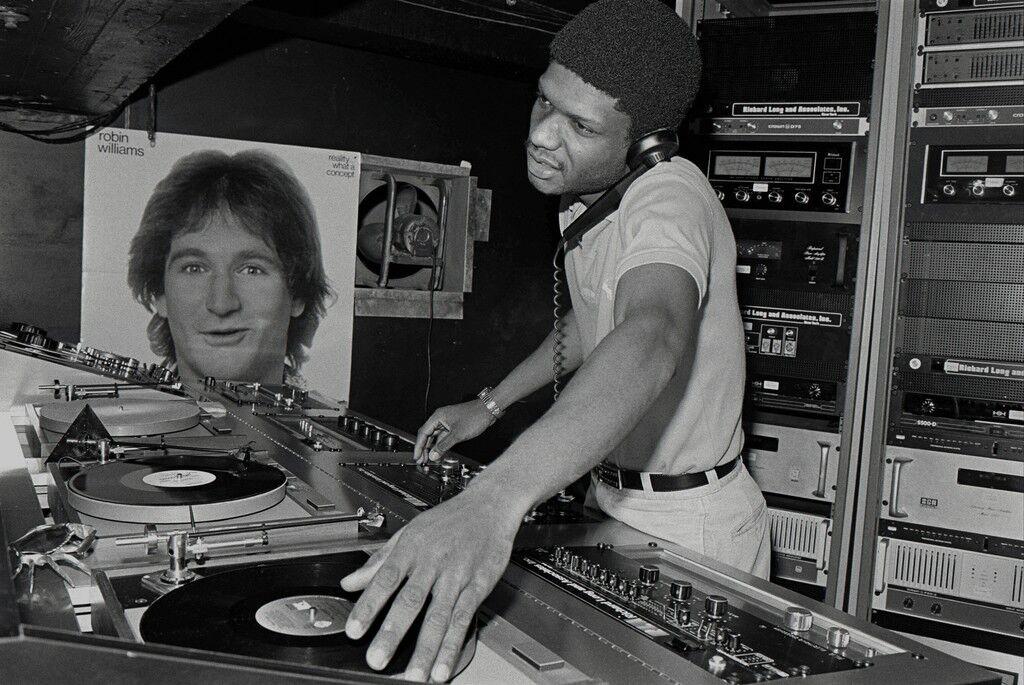 Paradise Garage DJ Larry Levan