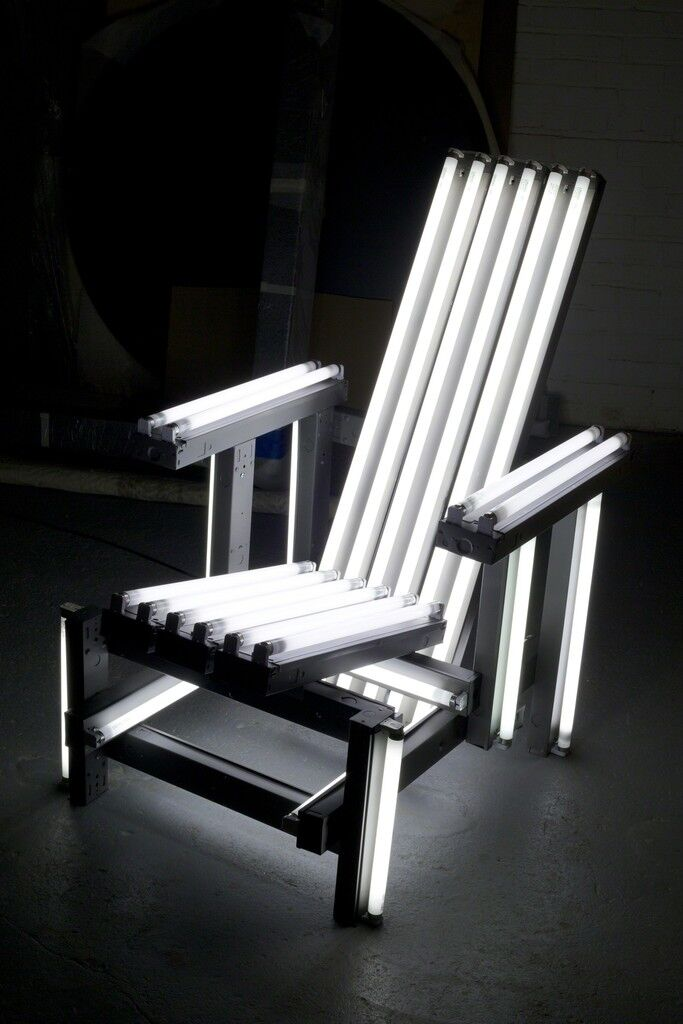 Metal Electric Chair