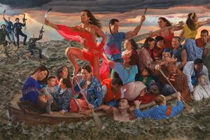 """How Contemporary Artists Have Used """"Washington Crossing the Delaware"""" to Challenge History"""