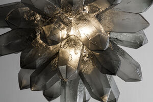 Jeff Zimmerman's Sculptural Lamps Gleam as Lighting Thrives in Art and Design Spheres