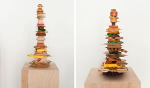 Supersize Sandwiches in Acclaimed Artist Teppei Kaneuiji's U.S. Debut