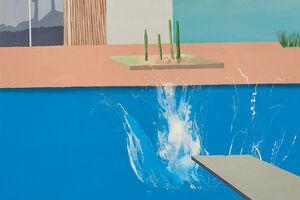 Why David Hockney's Pool Paintings Keep Making a Splash