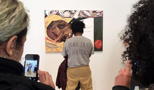 """Unpacking the Firestorm around the Whitney Biennial's """"Black Death Spectacle"""""""