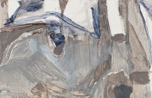 At Victoria Miro, Varda Caivano's Latest Paintings Capture Thoughts in Process