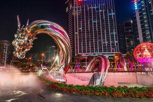 The Shanghai Art Factory That's Constructing Massive Public Artworks