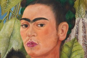 """Frida Kahlo's """"Self-Portrait with Monkey,"""" Helped Me Embrace My Flaws"""