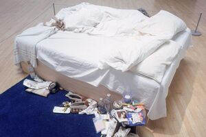 """Tracey Emin's """"My Bed"""" Ignored Society's Expectations of Women"""
