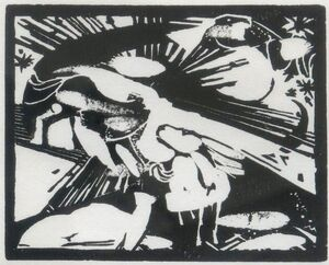 Rare Franz Marc Prints on View at Galerie Thomas