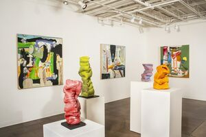 At a Santa Fe Gallery, A Panoply of Vibrant Quilts, Paintings, and Sculptures