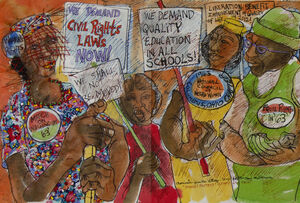How Aminah Brenda Lynn Robinson Made History Into Art