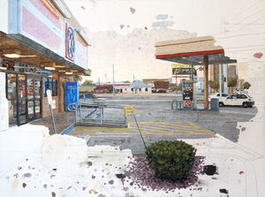 Colin Chillag's Anti-Realist Paintings Reveal the Hand of the Artist