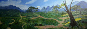From the Beijing Zoo to a Hong Kong Gallery: Wang Wei's Dioramic Landscape Paintings Consider Life in Captivity