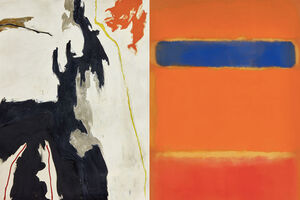 Abstract Expressionist Titans Drive Sales at Sotheby's Contemporary Auction