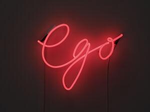 Gavin Turk Installs a Wax Wittgenstein and a Neon Ego in Freud's Home
