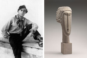 What's behind Modigliani's Trademark Portrait Style?