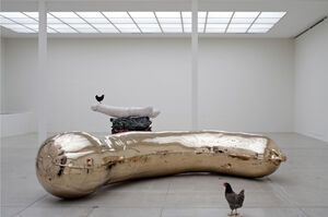 Boobs and Bollocks Await in Sarah Lucas's Venice Biennale Pavilion