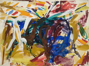 Happy Birthday, Elaine de Kooning