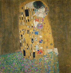 A Birthday Kiss For Gustav Klimt