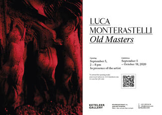 Luca Monterastelli   Old Masters, installation view