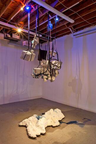 Mia Feuer: Mesh, installation view
