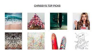 Chrissy's Top Picks, installation view