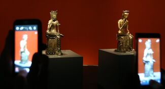 Masterpieces of Early Buddhist Sculpture, 100 BCE-700 CE, installation view