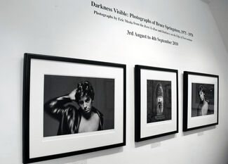 Darkness Visible: Photographs of Bruce Springsteen by Eric Meola, installation view