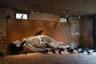 The Old Gods and Their Crumbling City, installation view