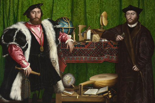 "Decoding the Symbolism in Hans Holbein's ""Ambassadors"""
