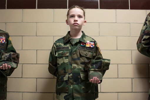 In Sarah Blesener's Photographs, Youth Patriotism in America and Russia Bear a Striking Resemblance