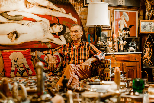 "Inside the ""Phallus Palace,"" Charles Leslie's Trove of Queer Art"