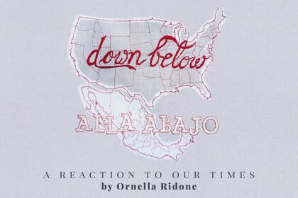 Allá Abajo/Down Below: A Reaction to Our Times by Ornella Ridone