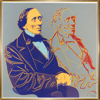 Andy Warhol, 'Portrait of Hans Christian Andersen', 1987