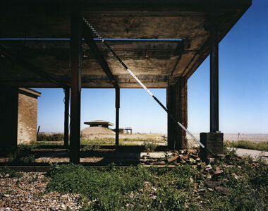 Blind Landing, H-bomb Test Facility, Orford Ness, Suffolk, UK