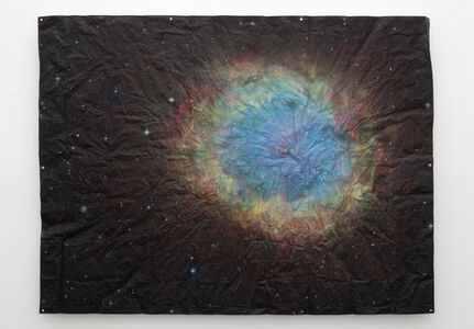 Untitled (Cosmos Tarp, Supernova)