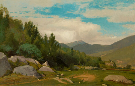 Scene in the White Mountains