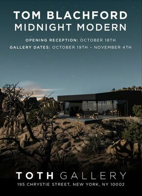 MIDNIGHT MODERN | Tom Blachford, installation view