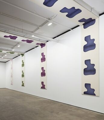 Landon Metz: Asymmetrical Symmetry, installation view