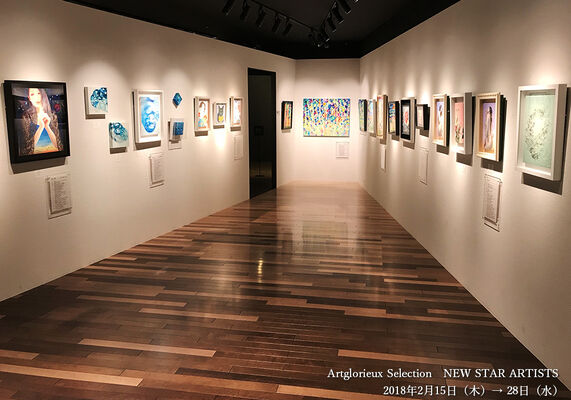 Artglorieux Selection NEW STAR ARTISTS, installation view