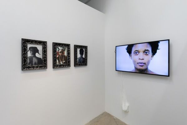 Adama Delphine Fawundu: The Sacred Star of Isis, installation view