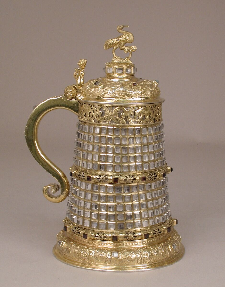 Tankard, Bohemian, Prague (Czech Republic), ca. 1585. Purchase, Anna-Maria and Stephen Kellen Acquisitions Fund, 2017. Courtesy of the Metropolitan Museum of Art.