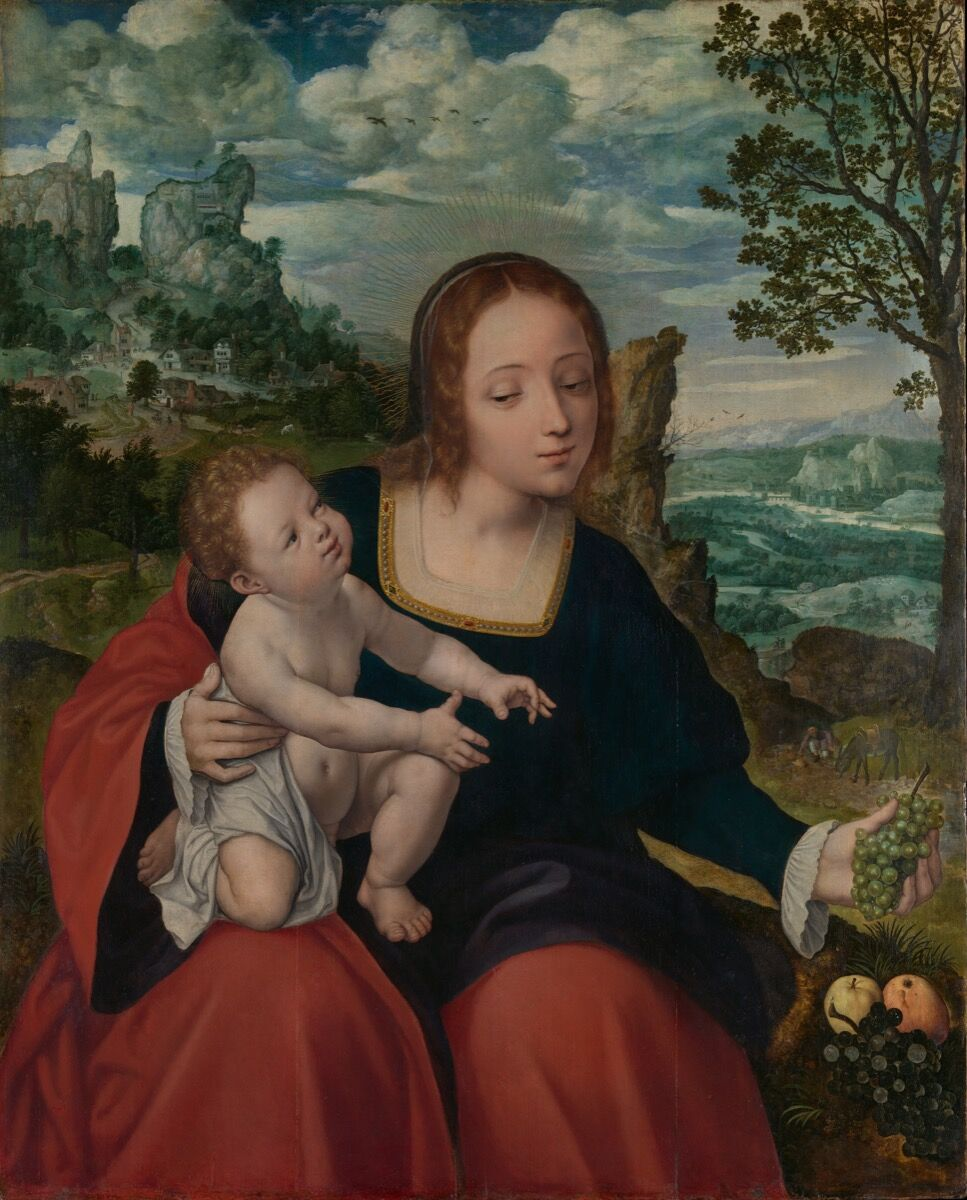 Follower of Quentin Metsys and Master of the Liège Disciples at Emmaus, The Rest on the Flight into Egypt, ca. 1540. The Friedsam Collection, Bequest of Michael Friedsam, 1931. Courtesy of the Metropolitan Museum of Art.