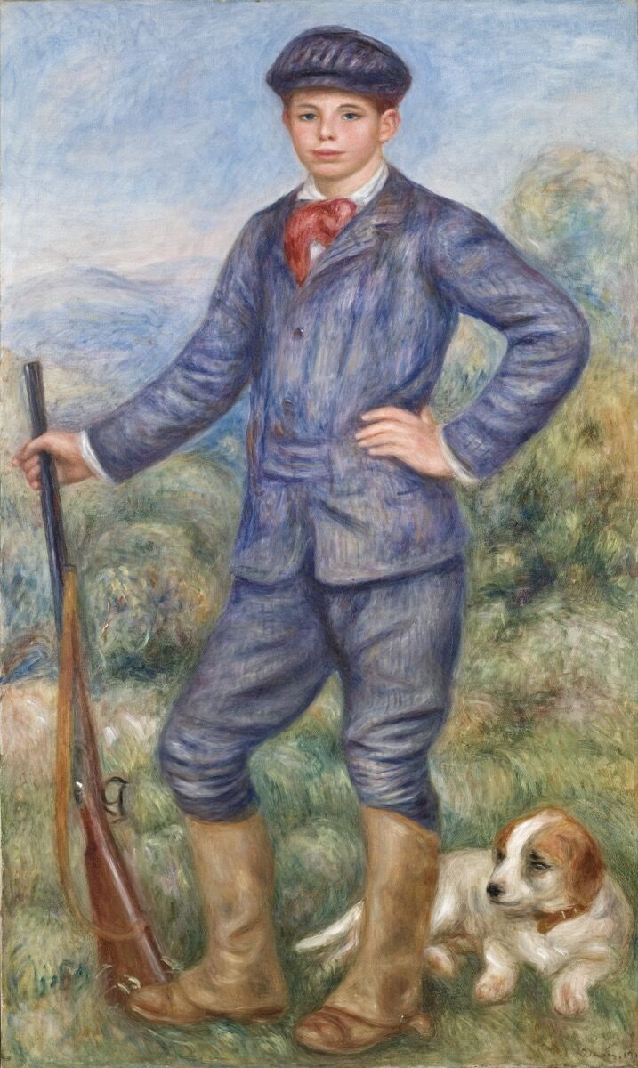 Pierre-Auguste Renoir, Jean as a Huntsman (Jean en chasseur), 1910. Courtesy of the Los Angeles County Museum of Art, Los Angeles.