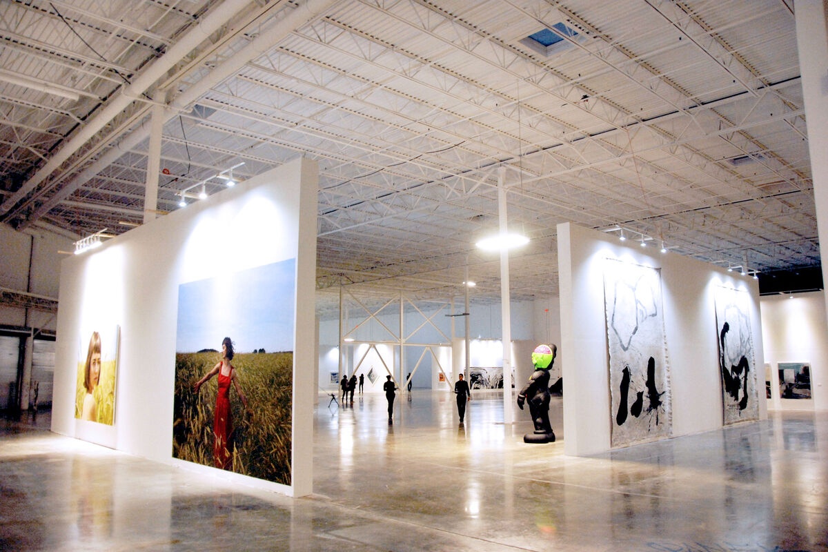 Installation view, Mana Miami 2014. Courtesy Mana Contemporary.