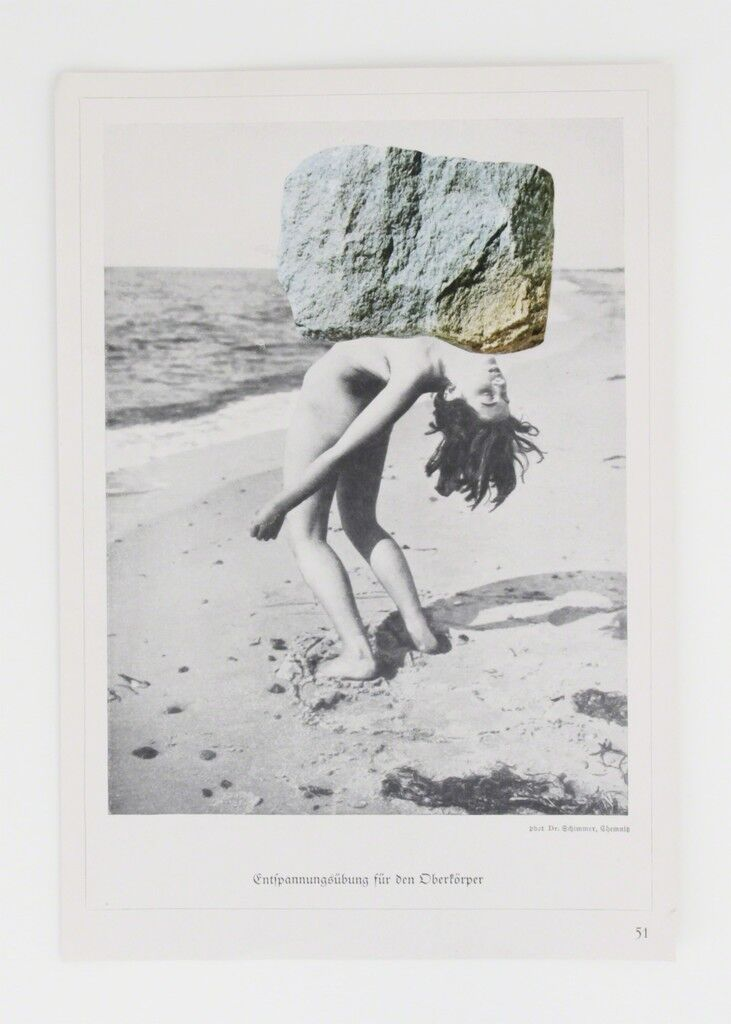 Untitled, from the Women and rocks Series